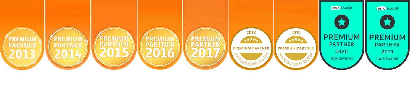 """Auszeichnung """"Premium""""-Partner"""