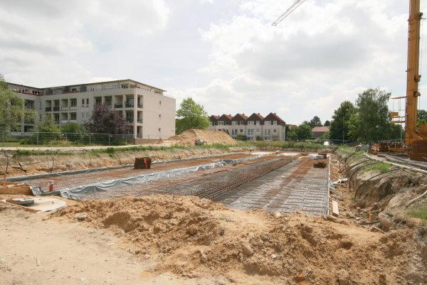 Baubeginn 2. Bauabschnitt
