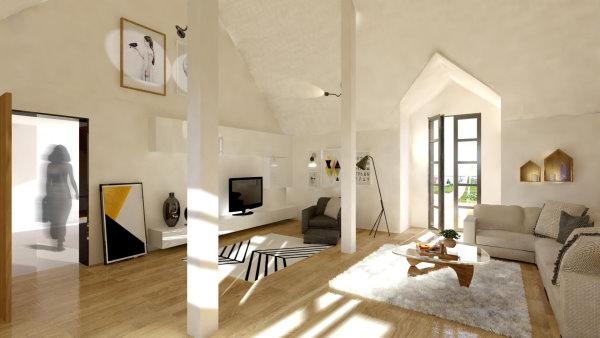 Innenansicht Wohnszimmer
