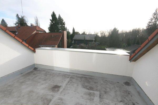 Baufortschritt Balkon