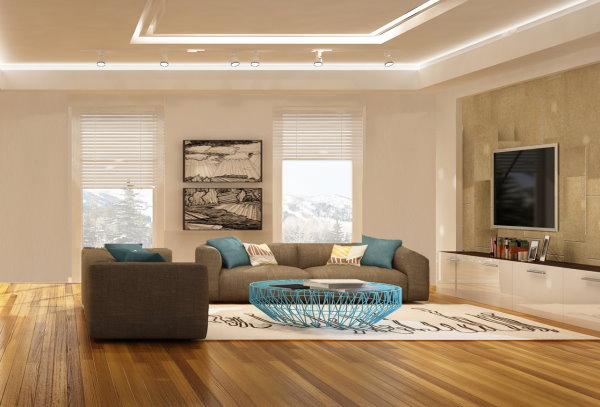 Beispielanimation Wohnzimmer