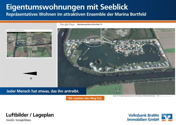 Lageplan Marina Borfeld